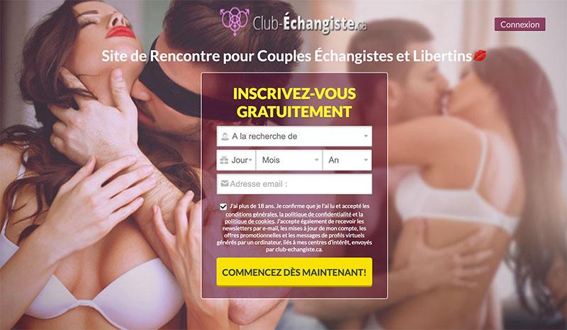 Club-echangiste.ca – Rencontre échangiste