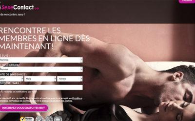 Du sexe entre adultes sur SexeContact.ca, le réseau pour trouver une baise
